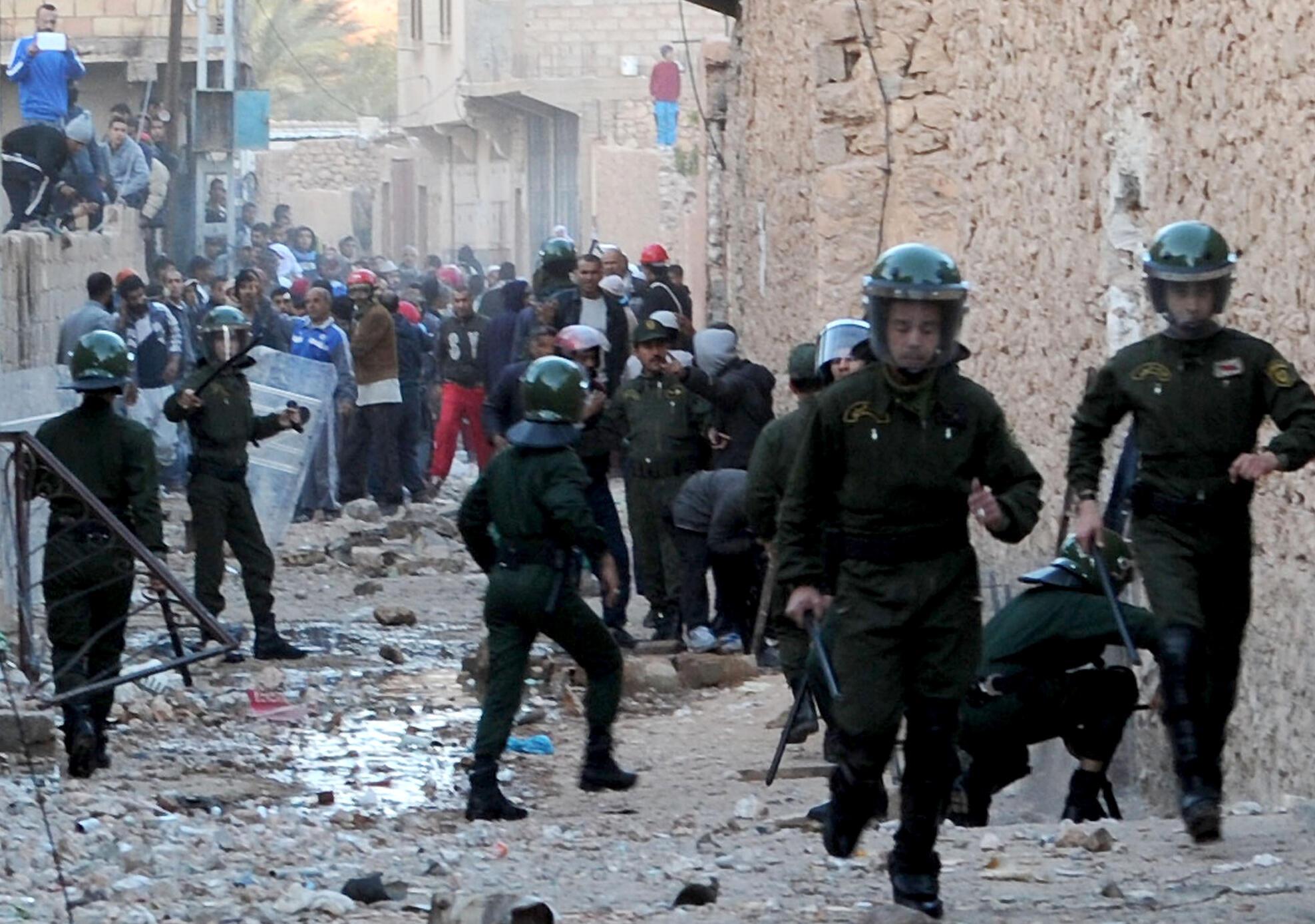 Des violences communautaires secouent régulièrement Ghardaïa et sa région depuis plus de deux ans.