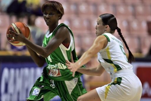 La Sénégalaise Fatou Dieng.