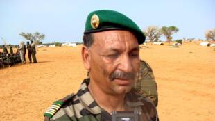 Le colonel Gamou, le 12 juillet 2012.