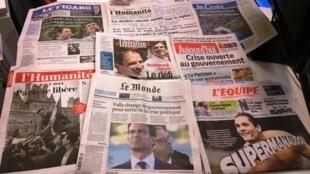 Diários franceses 25/08/2014