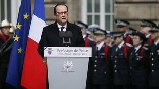French President François Hollande paid tribute earlier this month to the three police officers killed in the attacks.