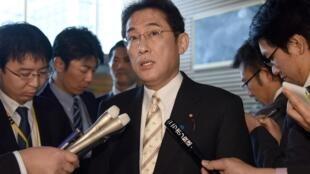 Ngoại trưởng Nhật Fumio Kishida sẽ đến Hàn Quốc trước ngày 31/12/2015.