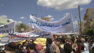 Qamishli dans le Kurdistan syrien, le 14 mai 2011.