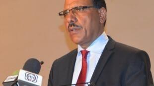 Mohamed Bazoum, ici en 2016, a été désigné comme le candidat du PNDS pour la présidentielle 2021 au Niger.