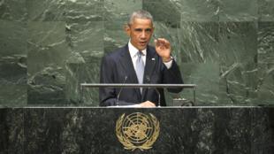 O presidente Barack Obama, defendeu nesta quarta-feira (24) sua estratégia de usar a força para combater o Grupo Estado Islâmico (EI).