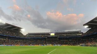 Le stade Ellis Park à Johannesbourg, le 14 juin 2009.