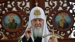 """The Russian Orthodox Patriarch Kirill received a letter from the head of the Kiev-based Ukrainian Orthodox Church which called for an end to """"the current confrontation"""""""