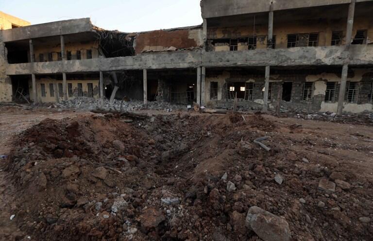 Le quartier général du Parti démocratique du Kurdistan d'Iran, basé à Koysinjaq, au Kurdistan irakien, a été ciblé par un tir de missiles iranien, le 8 septembre.