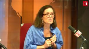 Elizabeth Royer-Grimblat sur RFI le 6 août 2018.