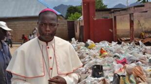 Shugaban kungiyar Kiristocin Najeriya reshen jihar Adamawa, Bishop Stephen Dami Mamza.