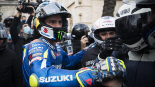 Surprise champion: Spanish rider Joan Mir