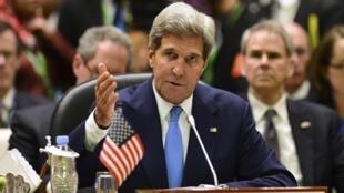 Ngoại trưởng Mỹ John Kerry phát biểu tại Thượng đỉnh ASEAN - Hoa Kỳ, Brunei, 09/10/2013