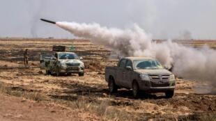 Los kurdos avanzaron hasta quedar a 56 kilómetros de Raqa, el feudo del grupo EI.