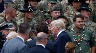 Le président américain a effectué une visite, largement consacrée aux questions sécuritaires, en Pologne ce jeudi 6 juillet, avant le G20 de Hambourg.