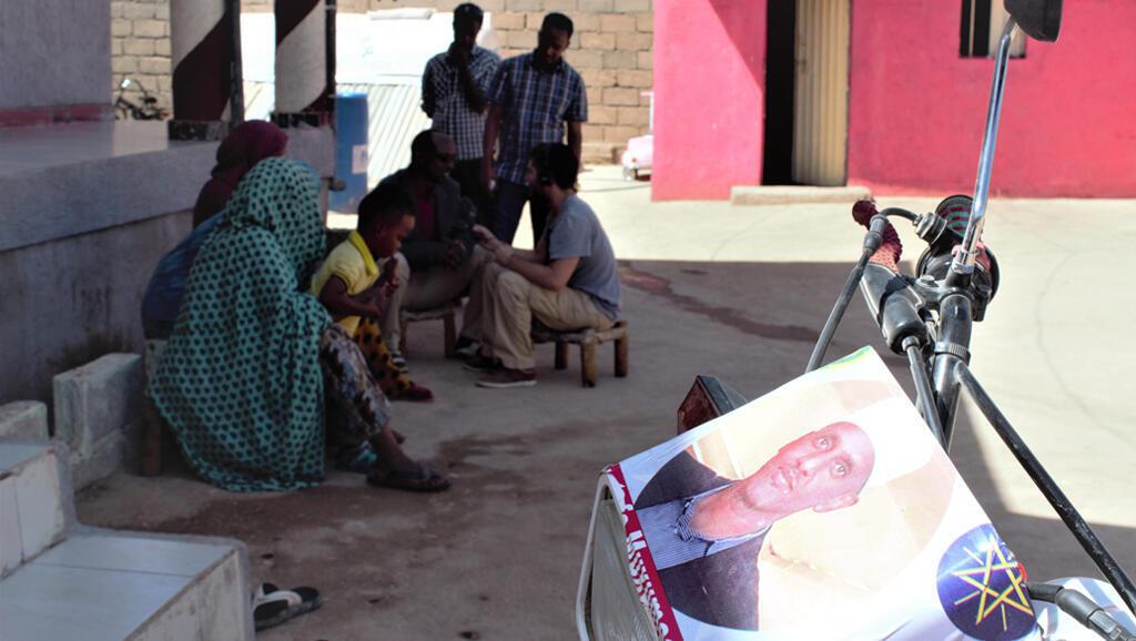Le président réformateur Mustafa Muhumed Omer, au premier plan, très apprécié des habitants de la région Somali d'Ethiopie.