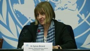 سیلوی بیریان مسئول مقابله با خطرات بیماریهای عفونی سازمان جهانی بهداشت.