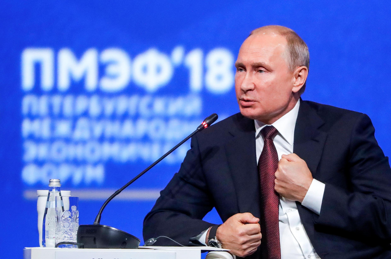 Владимир Путин заявил, что в Москве не доверяют результатам расследования международной следственной группы по гибели MH17