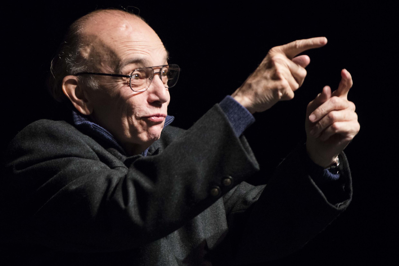 Le Vénézuélien José Antonio Abreu, fondateur du projet musical El Sistema, dédié aux enfants défavorisés, ici en novembre 2012.