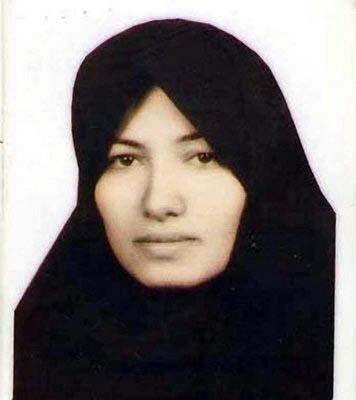 Sakineh Mohammadi-Ashtiani, condenada à morte por lapidação.
