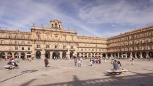 La place Mayor à Salamanque est considérée comme l'une des plus belles places d'Espagne (image d'illustration).