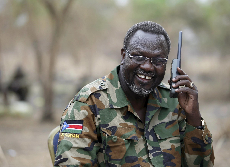 Kiongozi wa waasi nchini Sudani kusini Rieck Machar