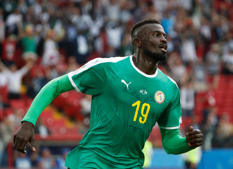 L'attaquant sénégalais Mbaye Niang, buteur face à la Pologne, en Coupe du monde 2018.