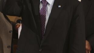 Le Premier ministre libanais Saad Hariri après le vote de confiance accordé à son gouvernement à Beyrouth, le 10 décembre 2009.