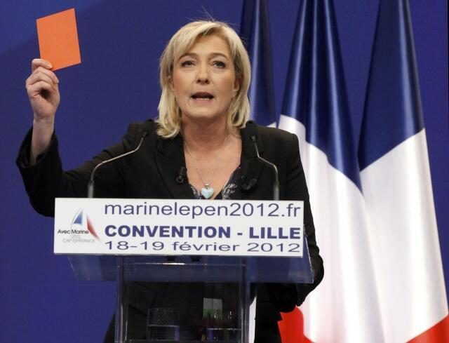 Marine Le Pen 'Yar takarar neman kujerar shugaban kasar Faransa