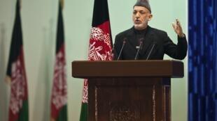 Rais wa Afghanistan Hamid Karzai ambaye atakuwepo kwenye Mkutano wa kujadili mustakabali wa nchi yake huko Ujerumani