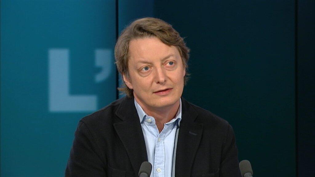 Мишель Ельчанинов в студии France 24 (фото из архива)