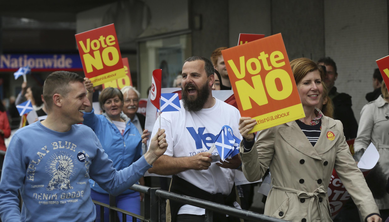 Campanha pelo referendo na Escócia