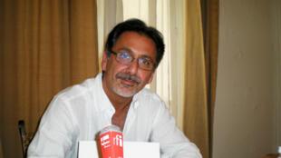 Djahanshah Bakhtiar à Paris, le 13 juin 2014.