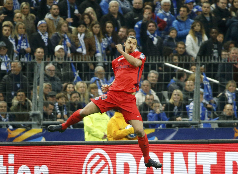 O jogador sueco Zlatan Ibrahimovic.