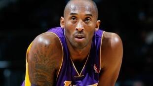 Le célèbre basketteur Kobe Bryant.