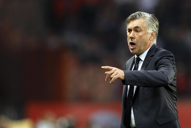Mai horar da 'yan wasan PSG, Carlo Ancelotti.