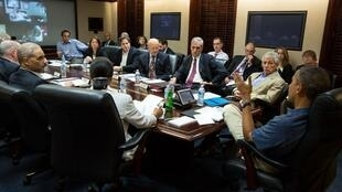 «Situation room», Maison Blanche, en juillet 2013.