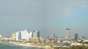 Vue de Tel Aviv, Israël.