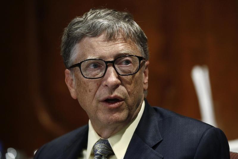 លោក Bill Gates  សហស្ថាបនិកក្រុមហ៊ុនសាជីវកម្ម Microsoft
