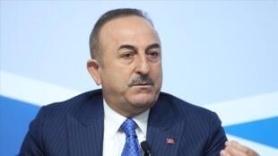 土耳其外交部长恰武什奥卢(Mevlut Cavusoglu)