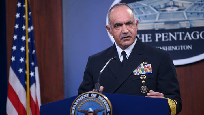 美国战略司令部司令查尔斯·理查德资料图片