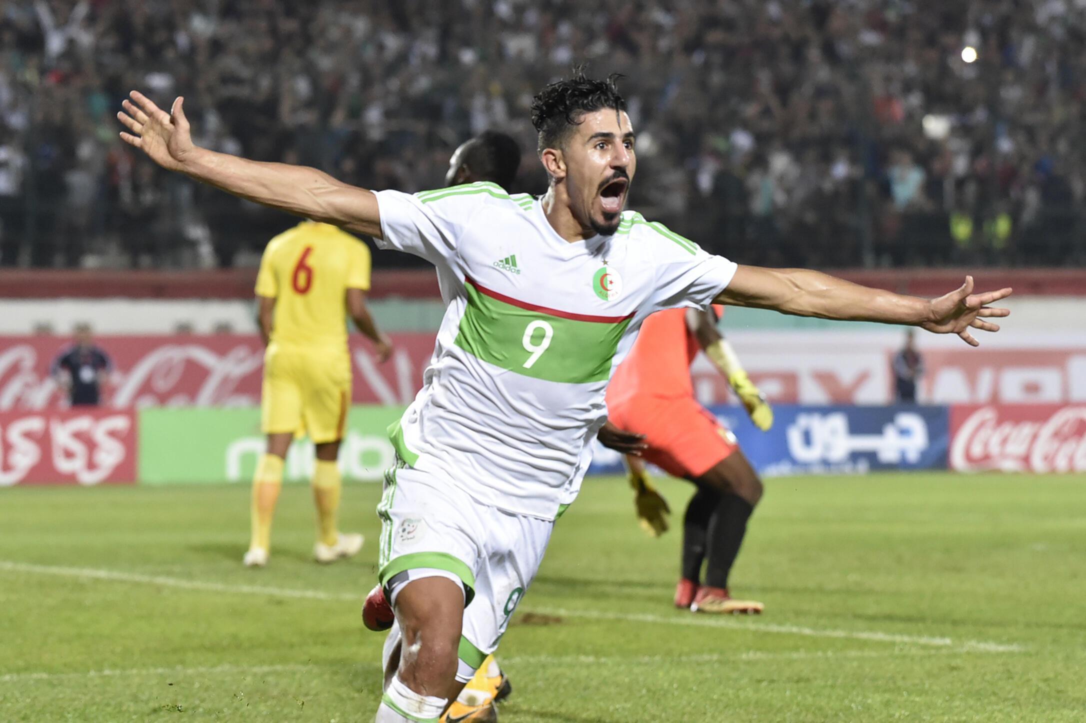 L'Algérien Baghdad Bounedjah.