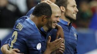 Christophe Jallet (c) souhaite bousculer les codes du football français.