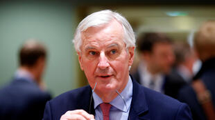EU's chief Brexit negotiatior Michel Barnier in Brussels, Belgium, March 20, 2018.