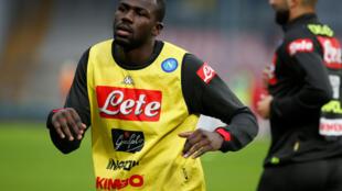 O jogador senegalês Kalidou Koulibaly.
