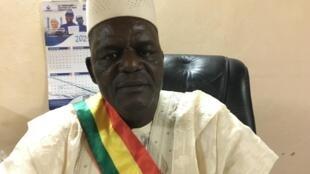 Aboubacrine Cissé, maire de Tombouctou, 23 mars 2021, Tombouctou, RFI David Baché.