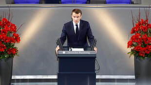 Shugaban Faransa Emmanuel Macron a Jamus