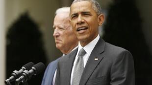 El presidente Obama habló inmediatamente después de la decisión de la Corte Suprema que validó su ley de salud.