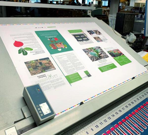La calidad de la impresión es otro de los valores de este proyecto.