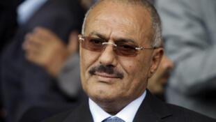 Rais wa Yemen Ali Abdallah Saleh