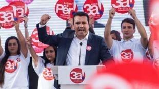 Премьер-министр Македонии Зоран Заев